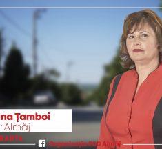 """Mariana Ţamboi, candidatul PSD pentru pirmăria Almăj: """"Voi fi un primar în slujba cetăţeanului"""""""
