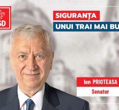 """Ion Prioteasa: """"Alături de colegii din PSD, vom accelera dezvoltarea comunităților locale"""""""